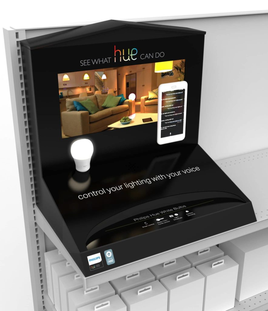 Philips Retail Display With Digital Signage