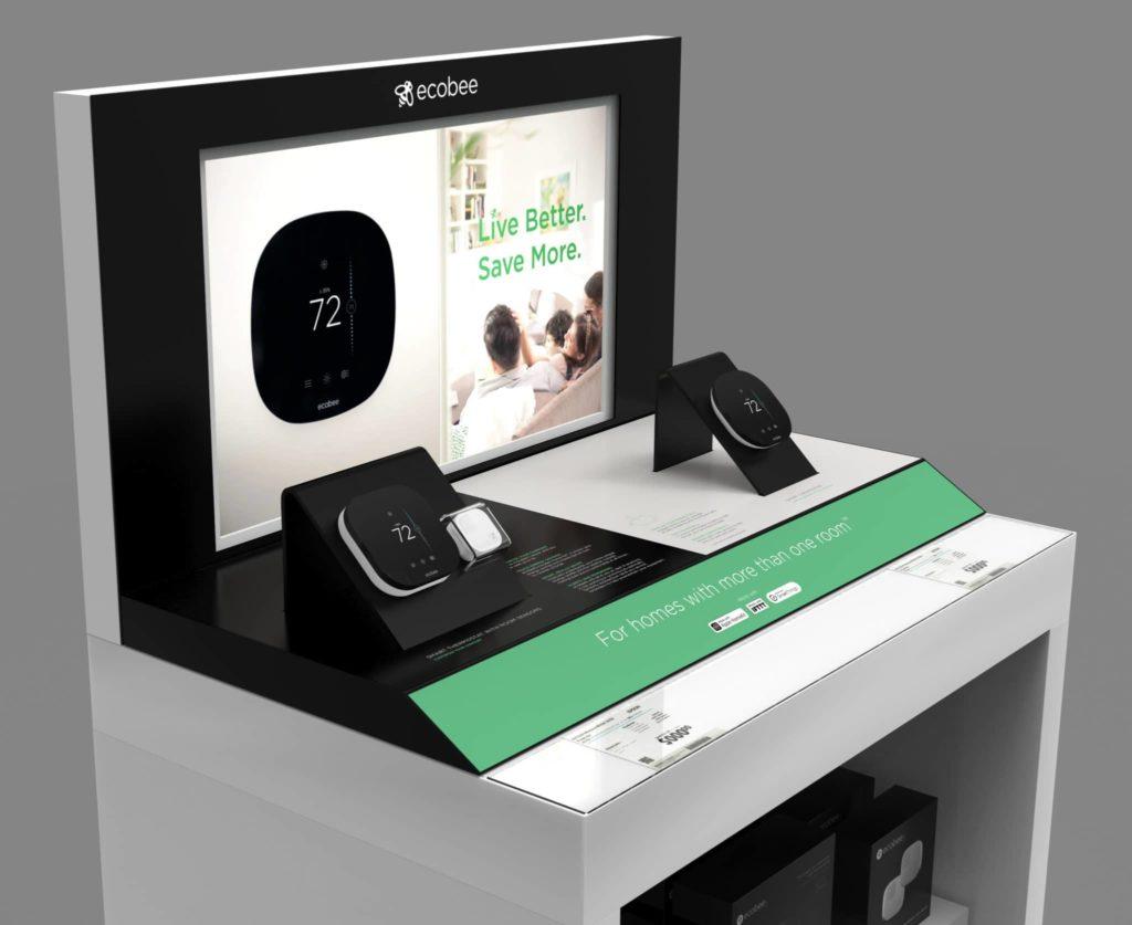 Ecobee Display With Digital Signage