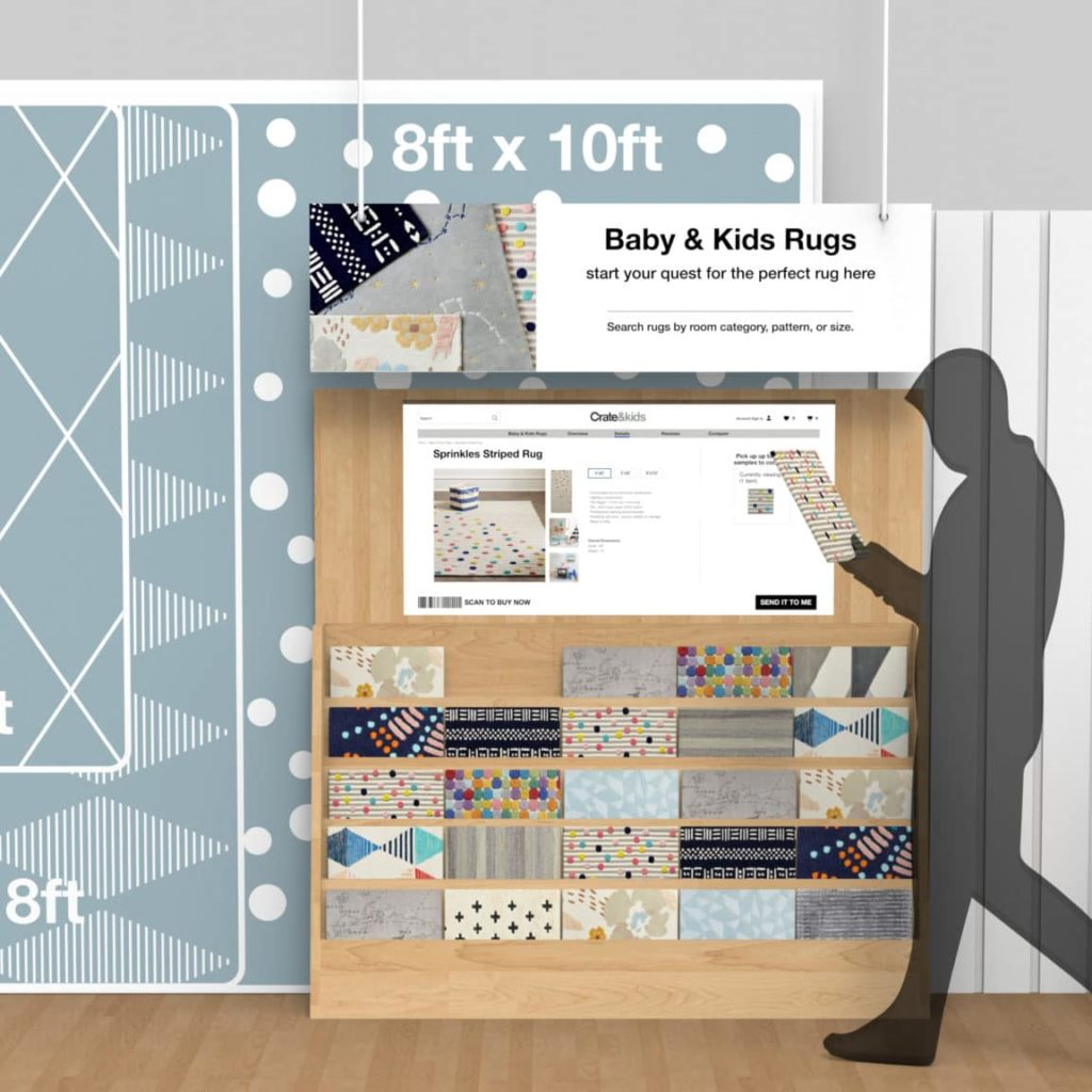 CB Retail Display With Digital Signage