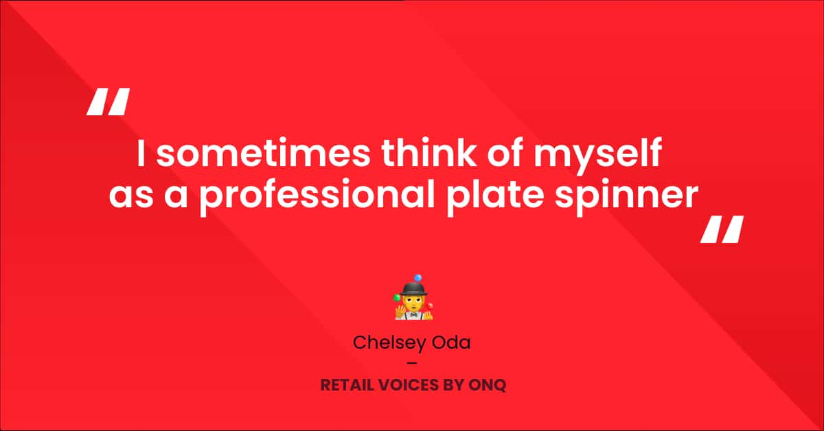 Chelsey Oda Retail Voices