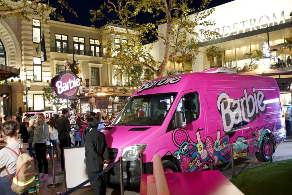 Barbie Pop-up Truck