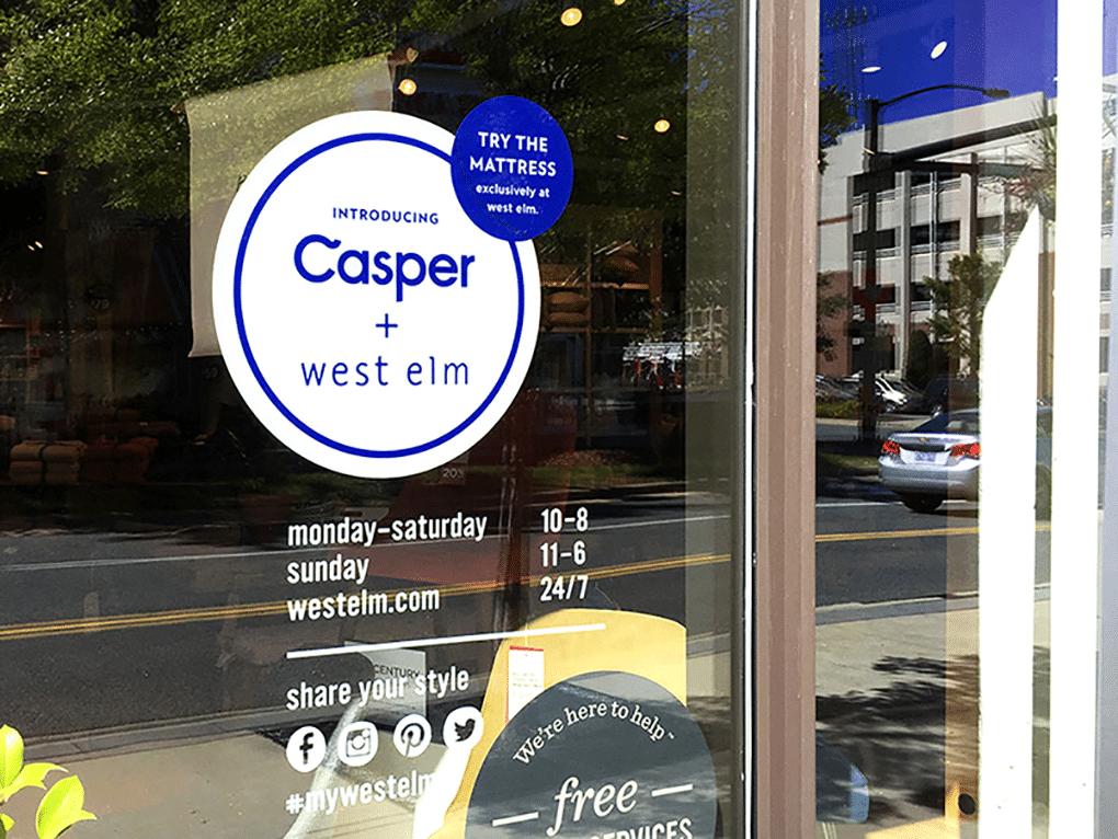 Casper + West Elm Colab